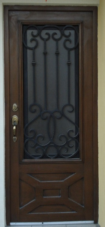 Herreria carmona puertas de forja for Puertas correderas de forja